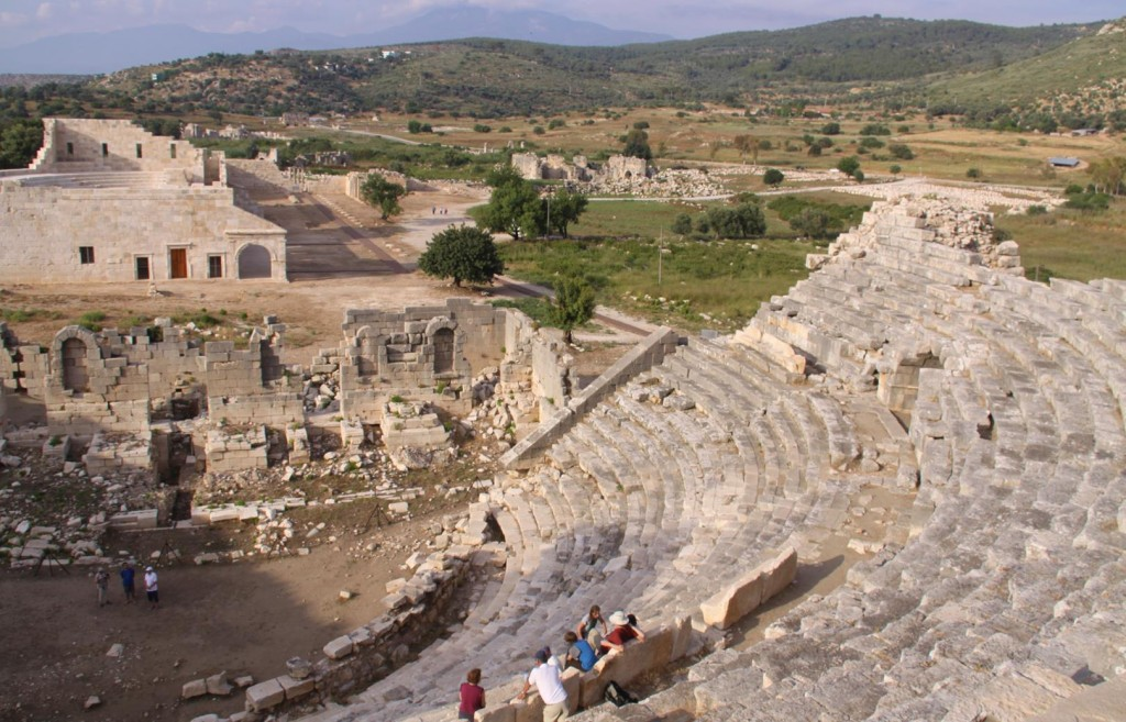 The Patara Site Covers a Very Wide Area