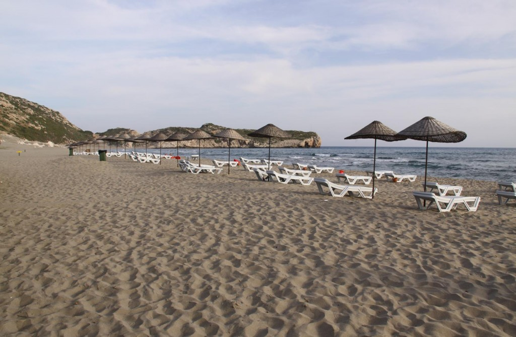 Patara Beach is a Popular Holiday Area and Famous for Turtles Returning Every Year to Lay Eggs
