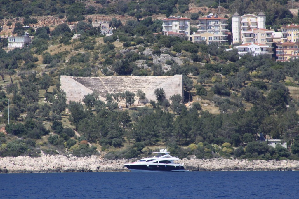 The Ancient Theatre by Kas