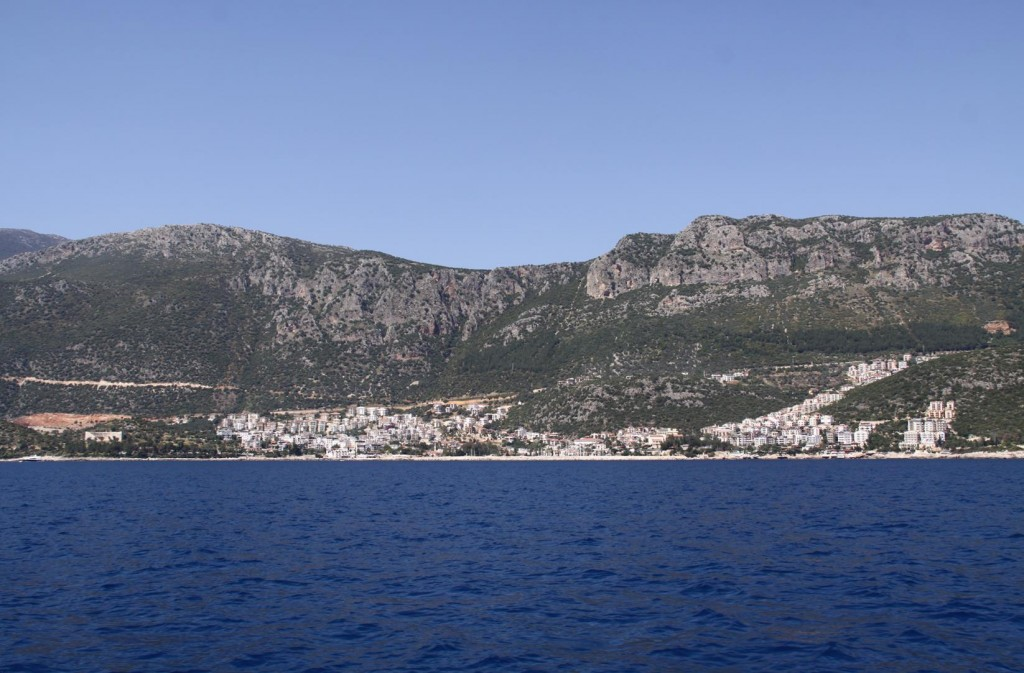 Looking Towards the Old Town of Kas