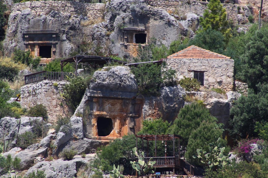 Ancient Tombs Amoungst the Houses in Kale Koy