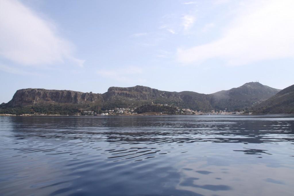 Approaching the Small Villages on Kastellorizon Island