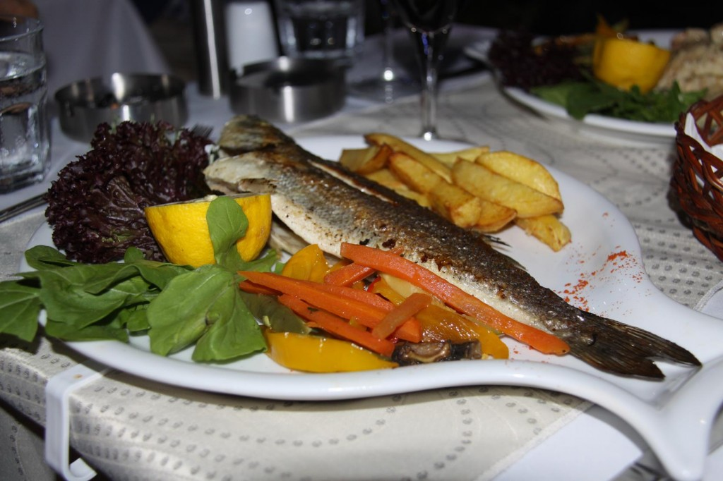 Delicious Fish on the Menu