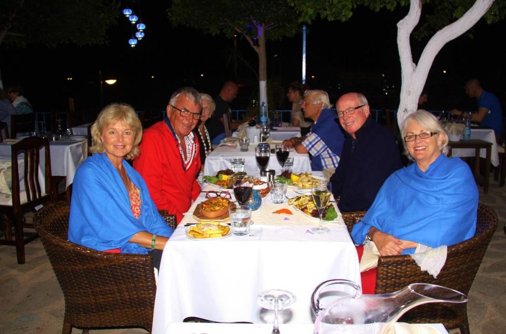 Dinner at Lipsos Restaurant