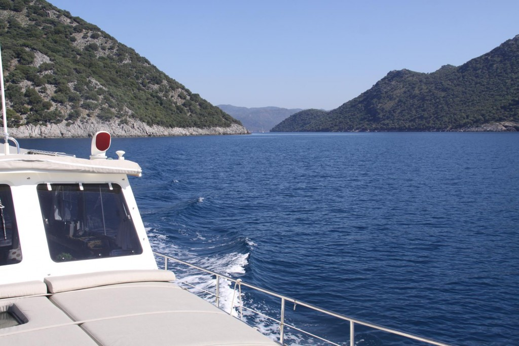 We Make Our Way Through the Small Islands in the Gulf