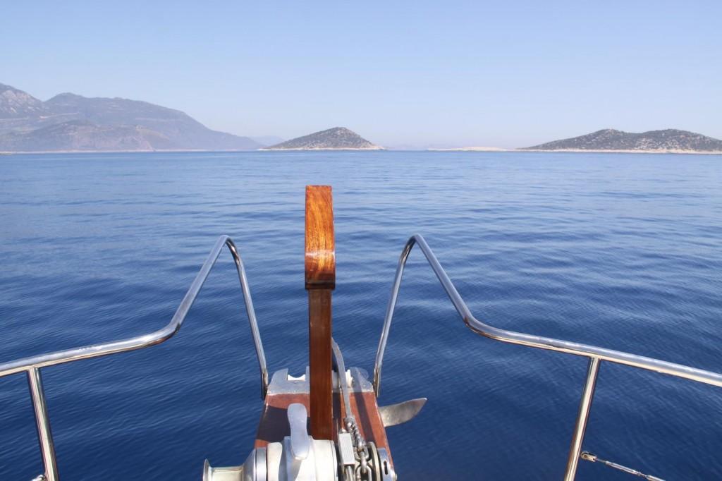 Approaching the Kalkan Area