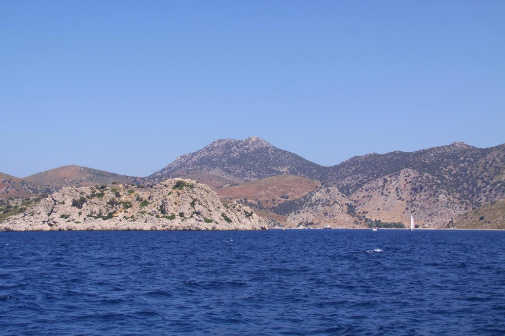 Bozukkale, Another Wildly Rugged Bay is the Closest Anchorage to the Greek Island of Rhodes