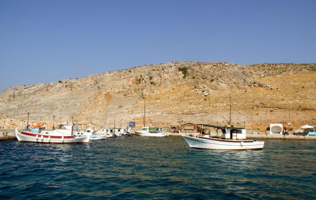 Fishing Boats in Pserimos Harbour
