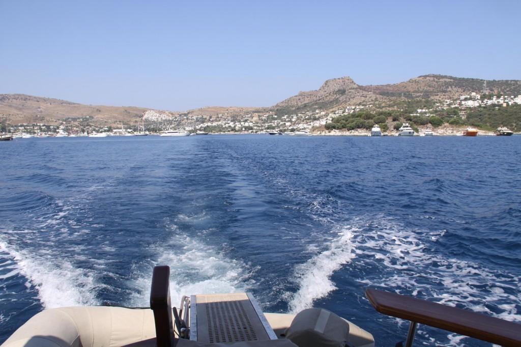 We Leave Behind the Hectic but Nice Port of Turk Buku