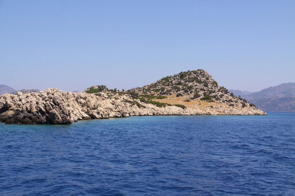 Our Special Little Island not far from Sogut for Swimming and Relaxing