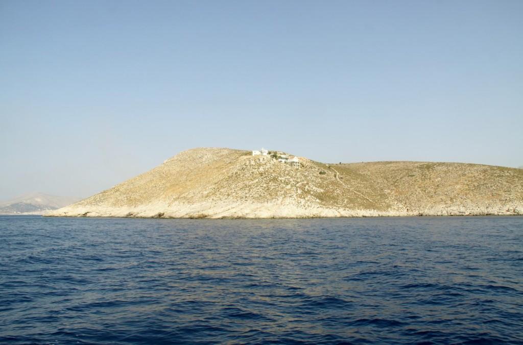 Approaching Kalimnos Island