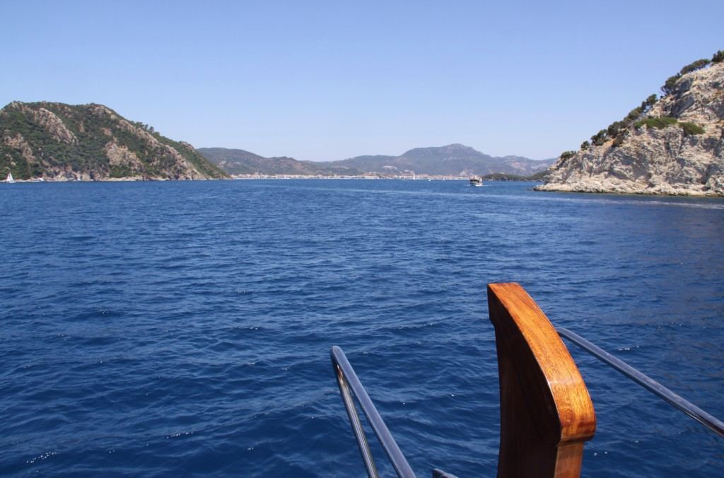 Marmaris Comes into View in the Distance