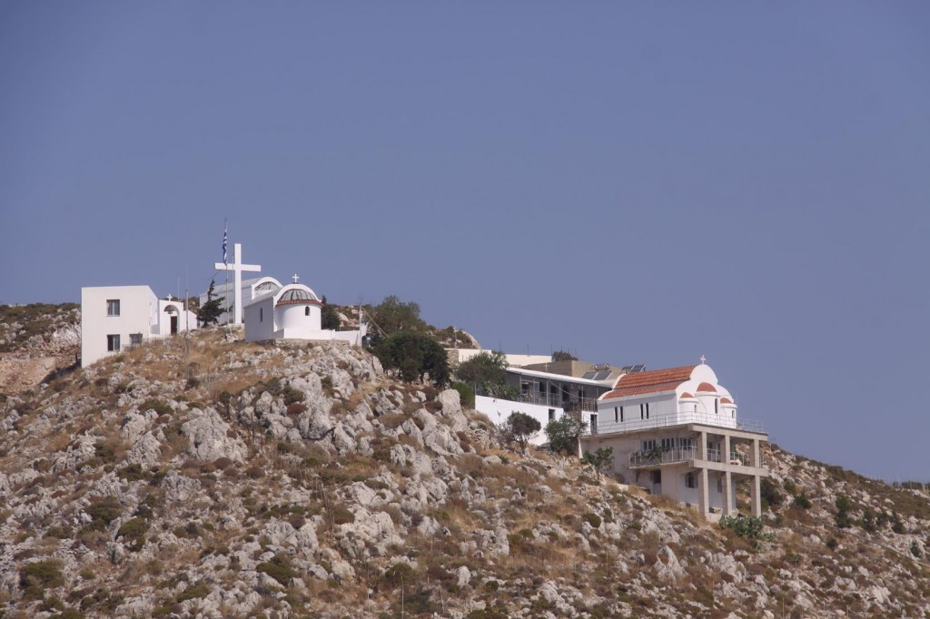 A Hilltop Home in Kalimnos with it's own Family Church