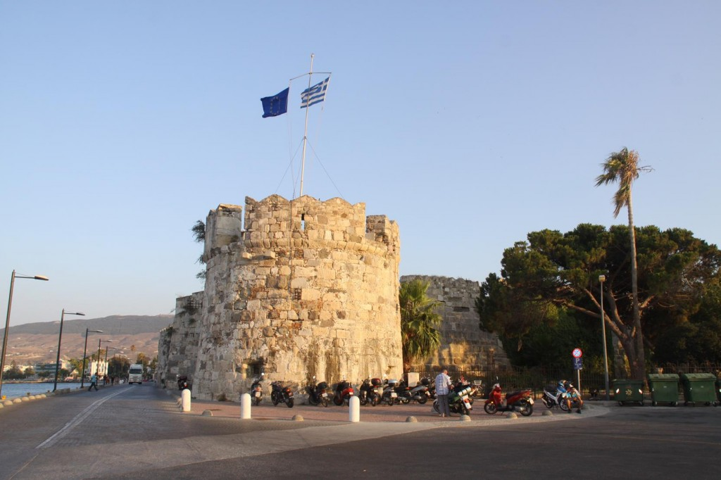 The most Prominent Turret of the 14th Century Castle if Kos
