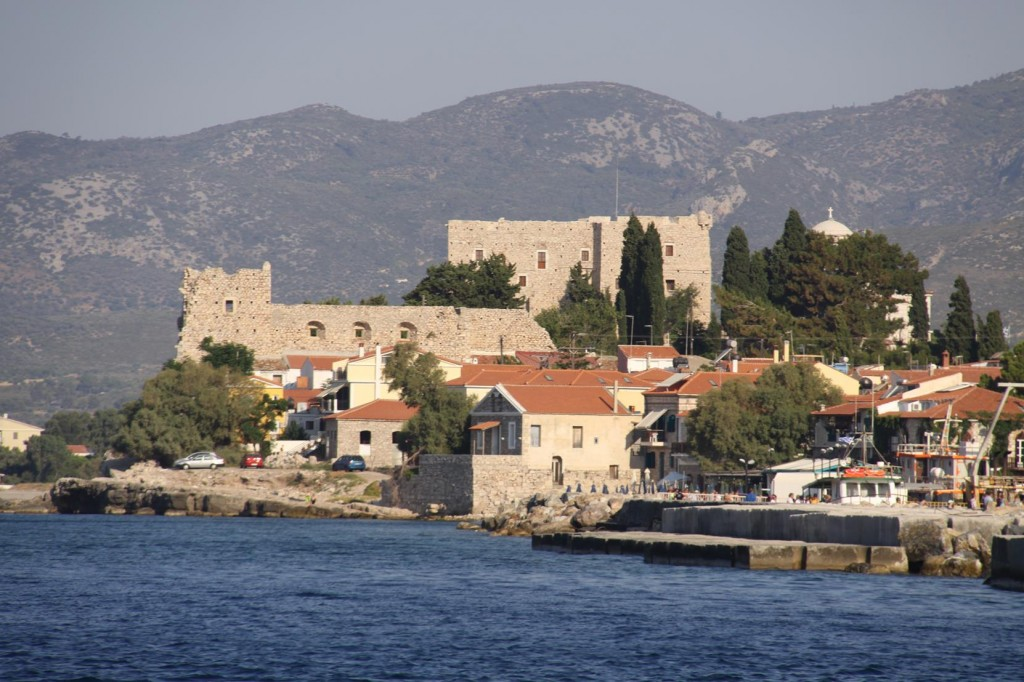 Pithagorion Stands on the Old Site of the Ancient City called Samos