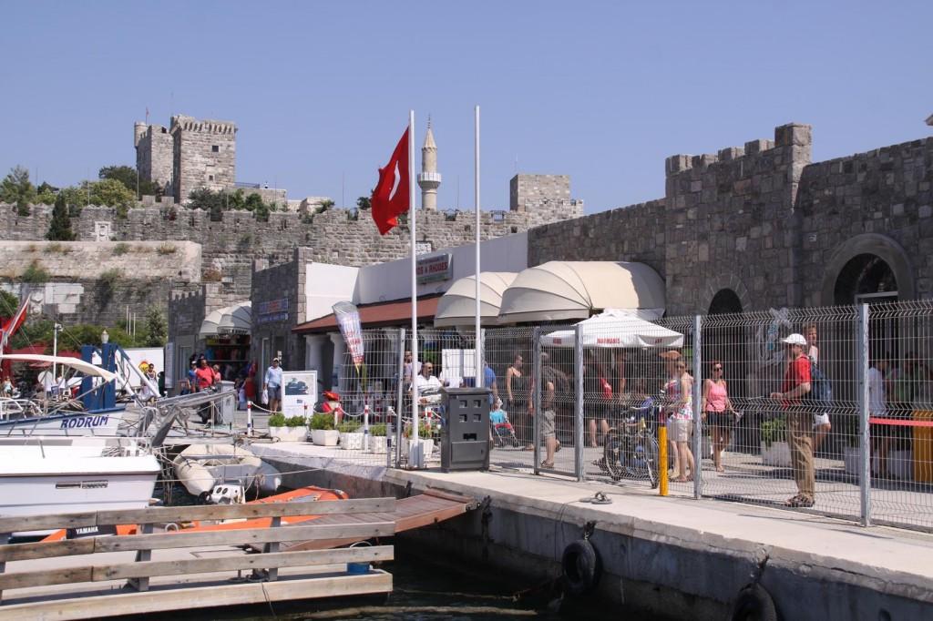 Bodrum's Port Customs
