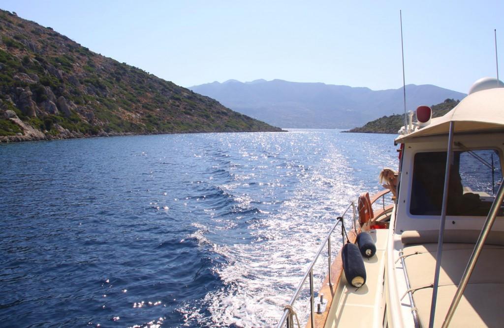 We Make our way East Through the Small Islands to Vist Bozburun