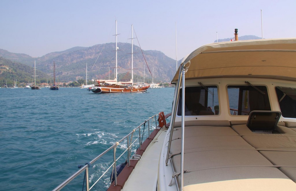 This will be Our Last Departure from Gocek this Season as Our Plan is to Head West