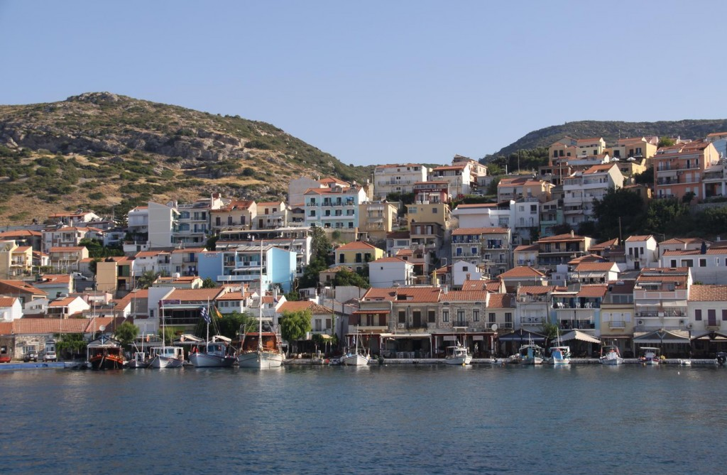 The Town Which was Named after the Famous Mathematician Pythagoruas is a Busy Tourist Town but has a Very Nice Feel to It