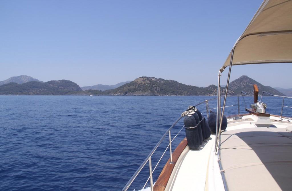 Back to the Wonderful Fethiye Gulf