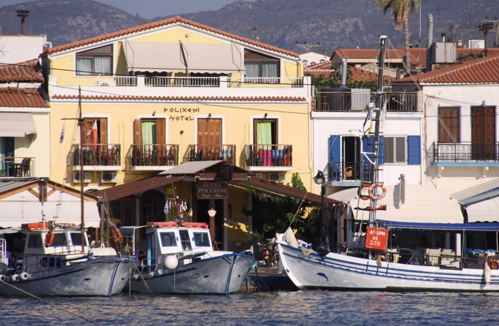 Pithagorion is a Popular Town for Turkish Tourists too as it is Only a Few Miles from the Turkish Coast