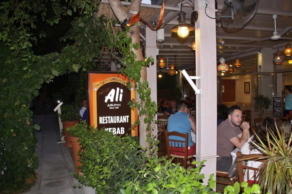Dinner at Popular Restaurant Ali's