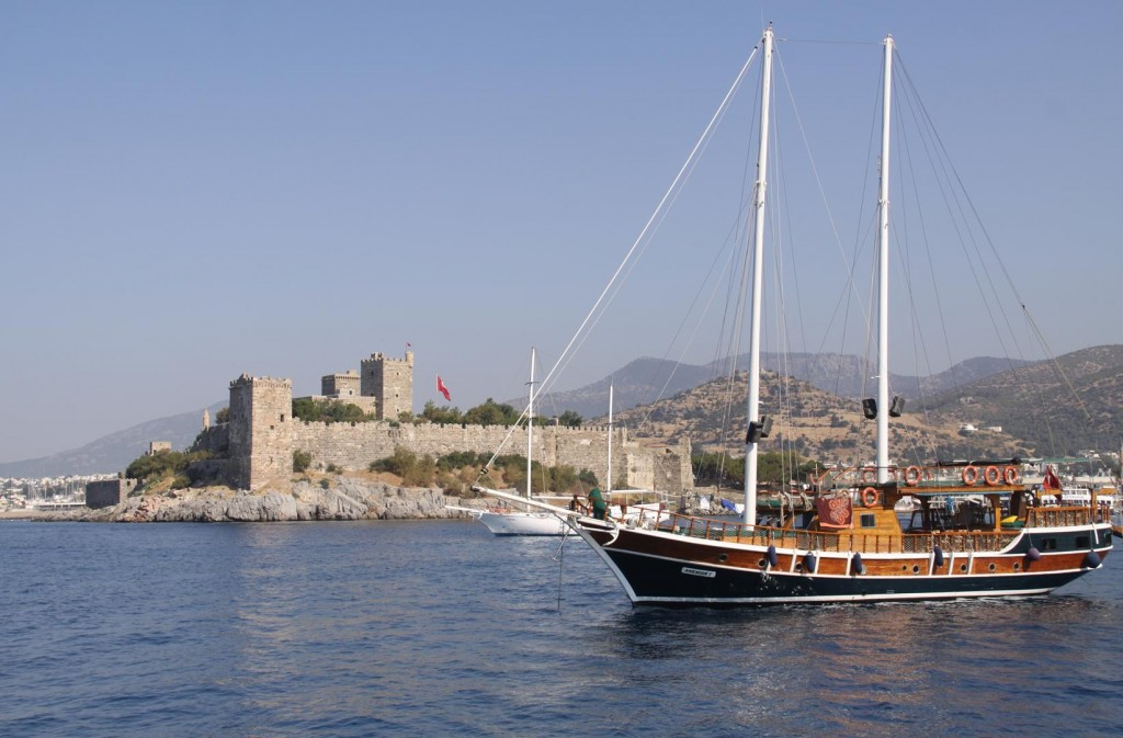 Our Arrival in Bodrum
