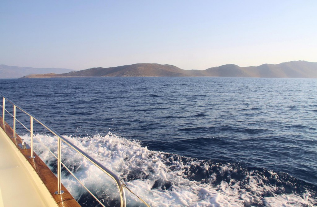 We Approach the Greek Island of Pserimos