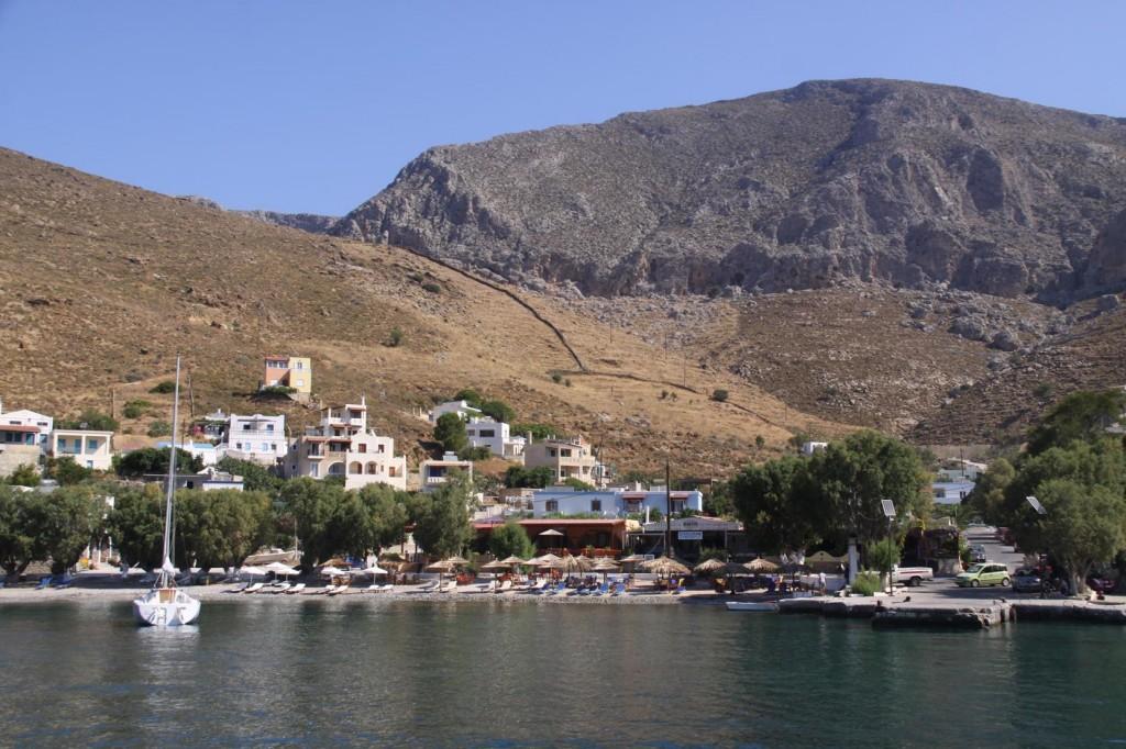 Farewell to Delightful Emborios, North West Kalimnos