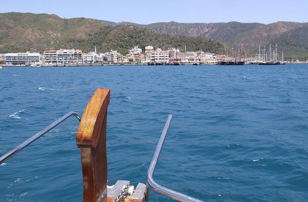 Late Afternoon we Make Our Way to the Old Marmaris Port