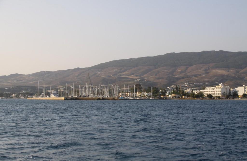 Finally we Depart Kos Marina !!