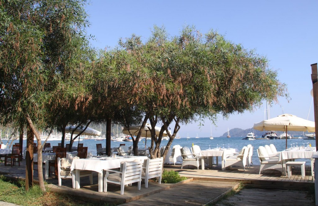 There are so Many Lovely Little Restaurants in Gocek by the Water