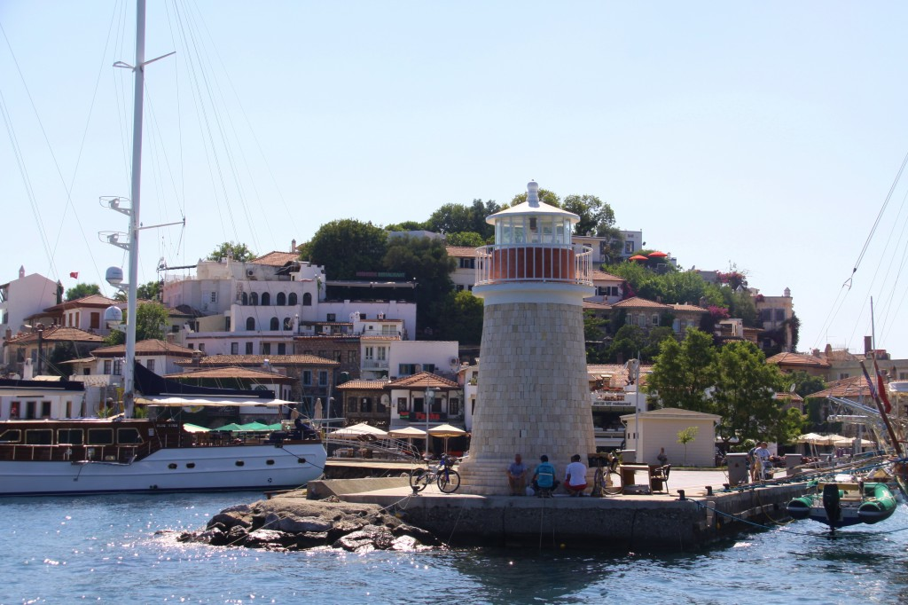 On Our Last Visit to Marmaris we Moored Tangaroa Beside this Lighthouse