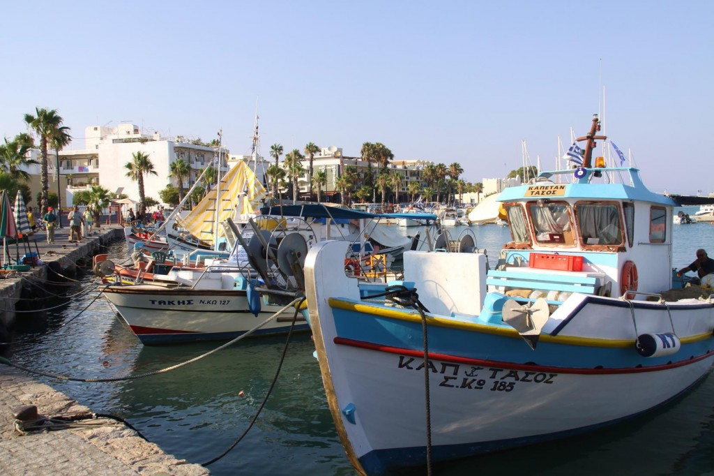 There are so many Cute Little Fishing Boats in Every Harbour in Greece