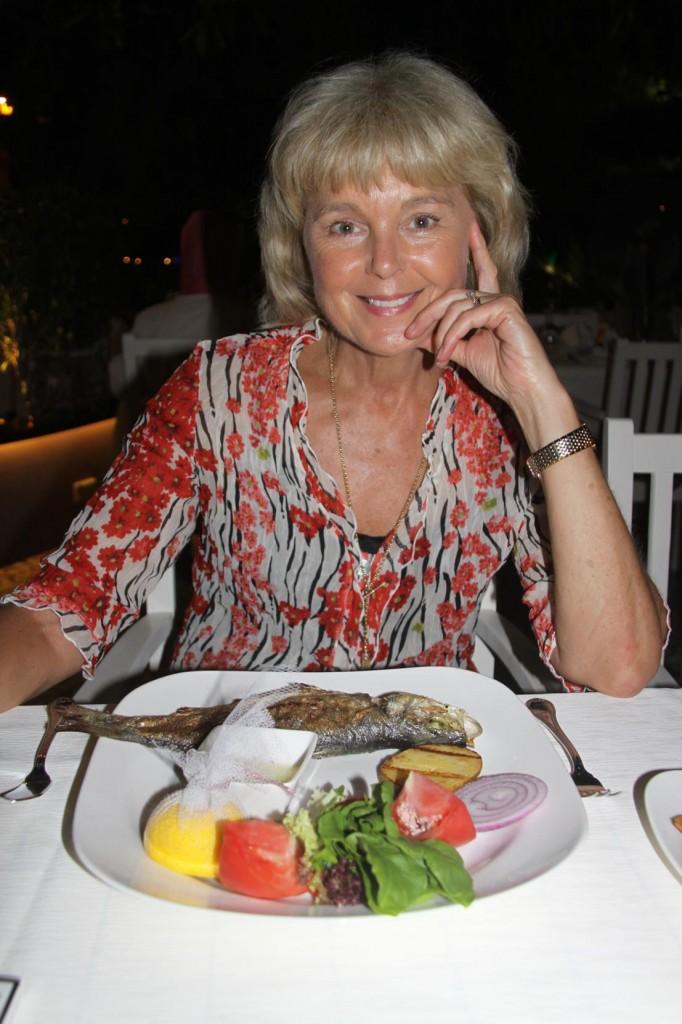 Dinner For Us Back at Our Favourite Restaurant, Lotis