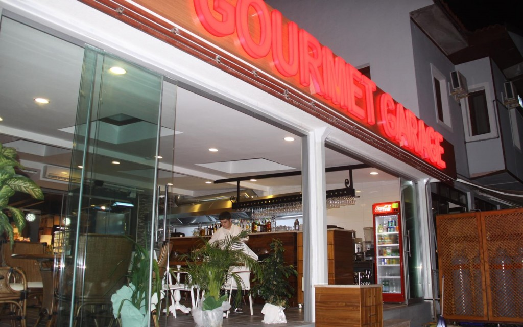We have Dessert at the New Gourmet Garage Which was Recently Opened in Gocek
