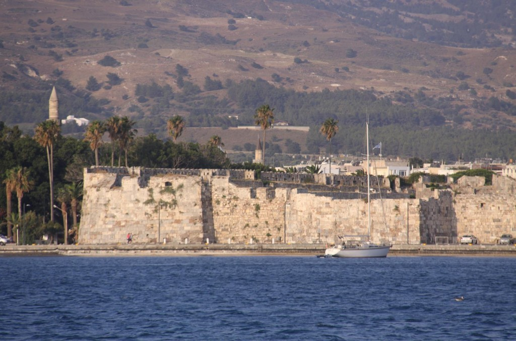 The 14th Century Castle of the Knights of St John Dominates the Entrance to the Port of Kos
