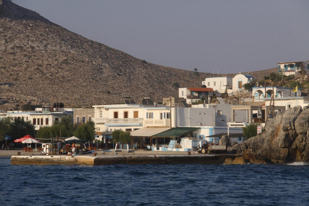 The Small Town Relies on the Day Tripper Boats Bringing Tourists to the Island for the Day