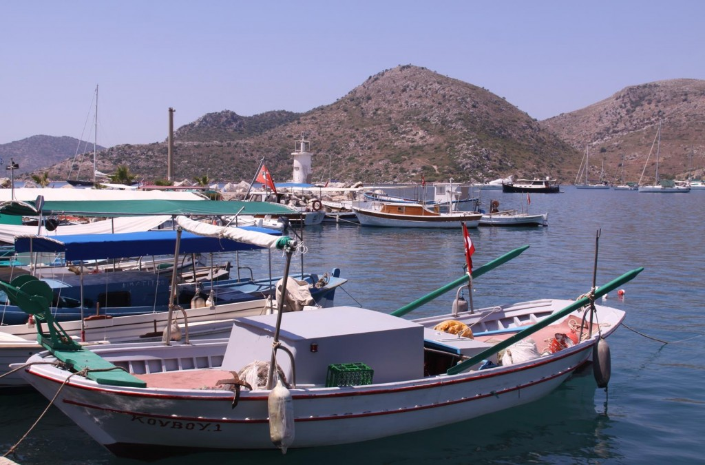 In Every Small Port there are Cute Little Local Fishing Boats