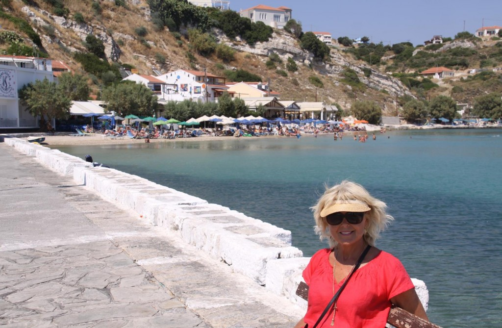 By the Port is a Sheltered Beach which gives the Locals and Tourists a Relief from Hot Summer Temperatures