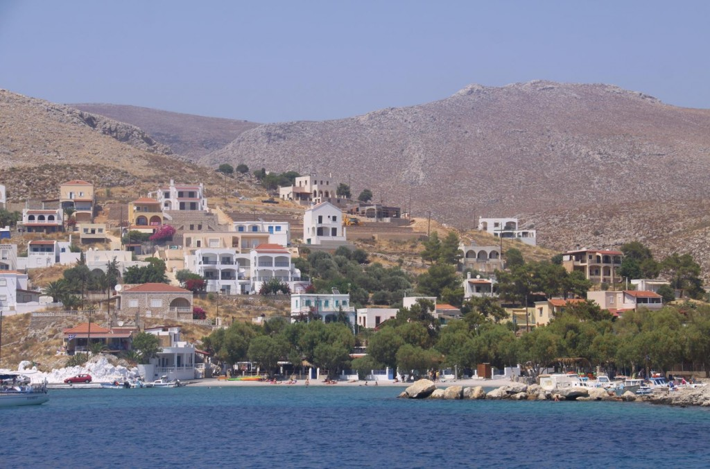 After Departing Pothia we Called into the Small Village of Vlikadhia on the South Coast of Kalimnos