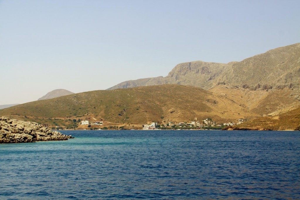 Further North Our Destination, Emborios Comes into View
