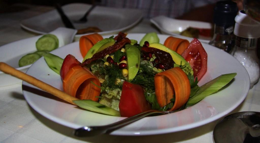 Wonderfully Healthy Looking Salad at Lotis