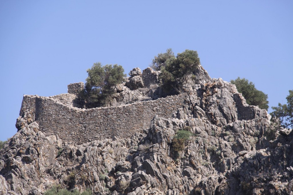 The Byzantine Fort on the Keki Beku Island