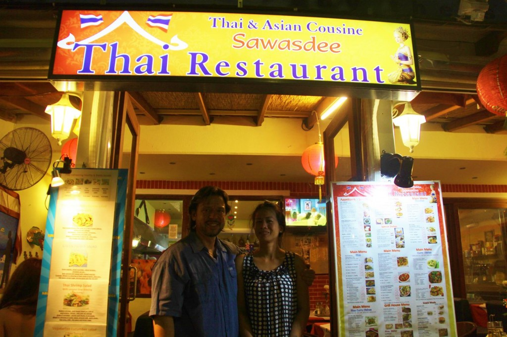 Australian Guy, Max and His Wife Have a Thai Restaurant in Kos