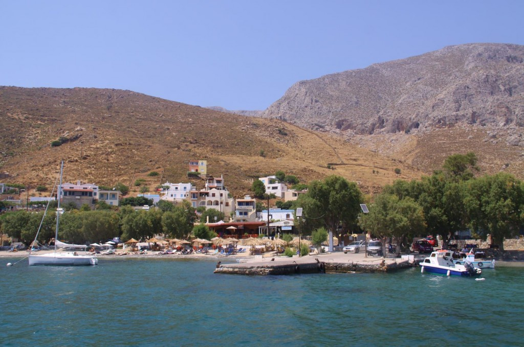 The Small Quaint Township of Emborios has Only a Handful of Permanent Inhabitants