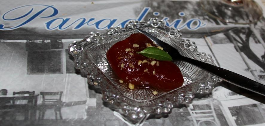 This Special Paradiso Dessert was Absolutely Amazing - Caramelised Tomato !!!