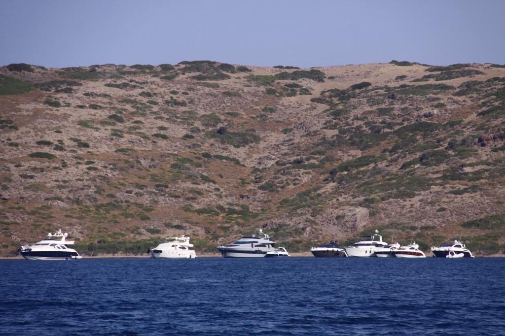 Yachts Moored in Yalikavak Limani