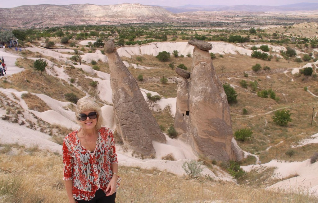 The Famous Natural Structures of Cappadocia Called fairy Chimneys