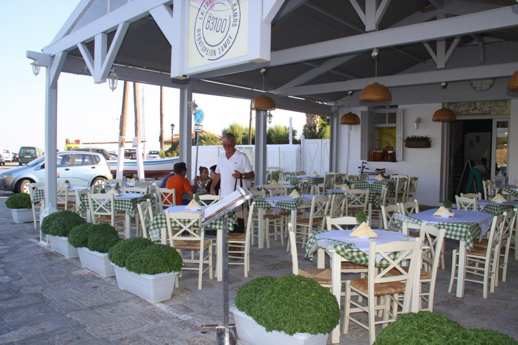 The Italian Restaurant at the End of the Pier Looks Inviting for Dinner Tonight